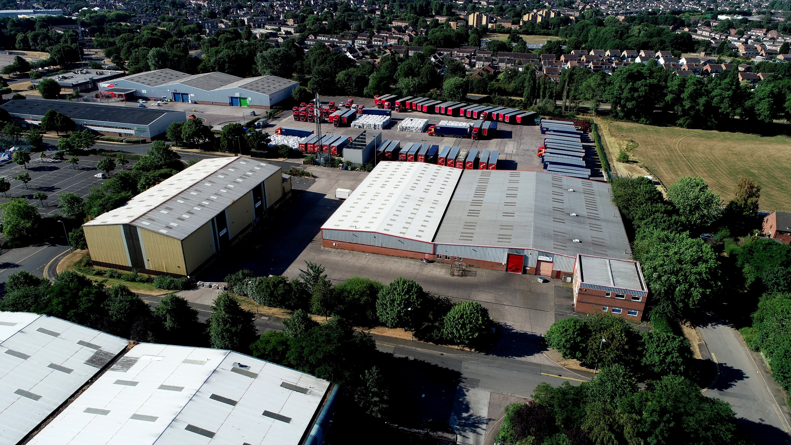 Substantial former Sunline Direct site available in Loughborough across three separate freeholds