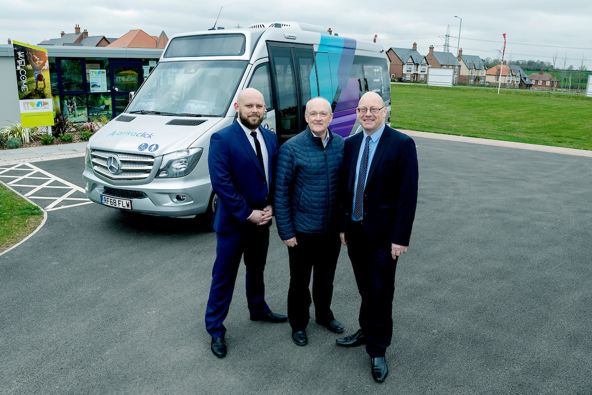 Innovative on-demand bus service launches in Leicester