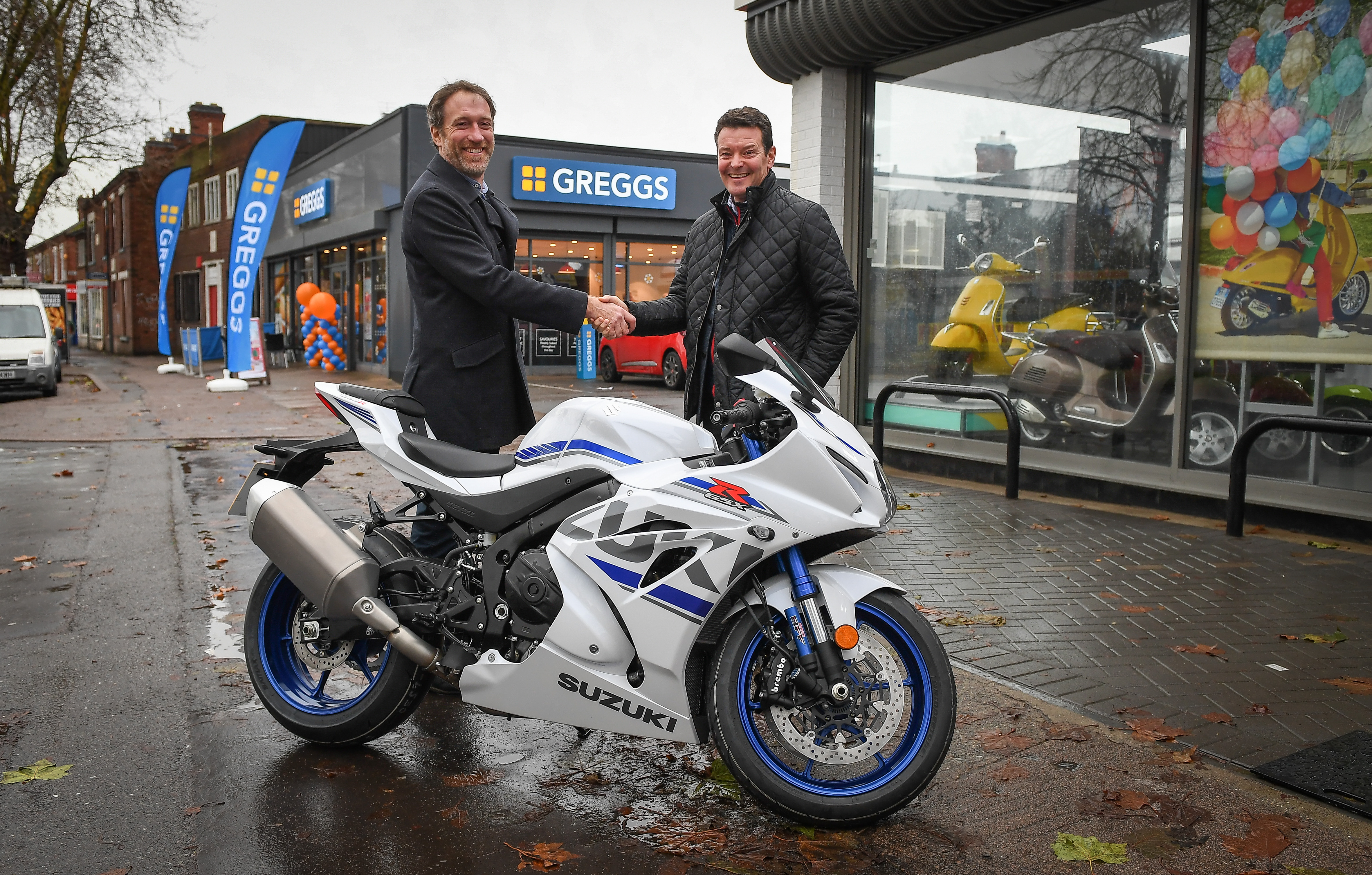 Motorcycle dealership leases neighbouring property to Greggs through Mather Jamie